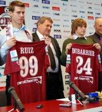 CFR Cluj i-a prezentat pe Ruiz si Dubarbier