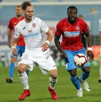 CFR Cluj invinge FCSB in ultimul derbi din 2018