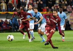 CFR Cluj invinge Lazio Roma in grupele Europa League