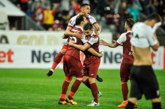 CFR Cluj invinge Viitorul lui Hagi si urca pe primul loc in Liga 1