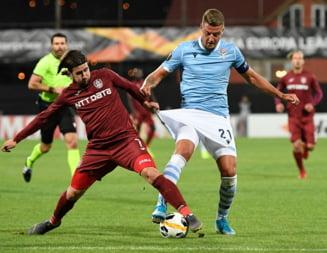 CFR Cluj pierde cu Lazio in Europa League