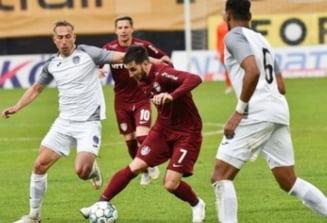 CFR Cluj pune presiune pe liderul FCSB. Campioana a defilat in primul meci din play-off