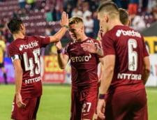 """CFR Cluj s-a lovit de """"stanca"""" din Gibraltar. Scor rusinos la pauza pentru echipa lui Sumudica. Cum s-a incheiat meciul"""