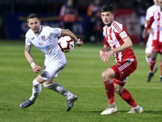 CFR Cluj se impiedica de Sepsi inaintea play-off-ului Champions League