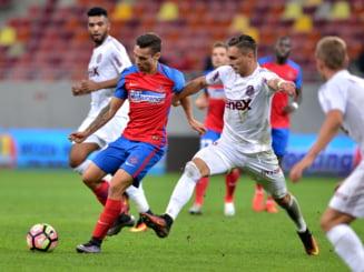 CFR Cluj si Steaua, egal dupa un meci plin de evenimente