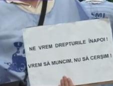 CFR Marfa privatizare protest