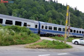 CFR a fost amendata de Politie, deoarece calea ferata este mai inalta decat carosabilul