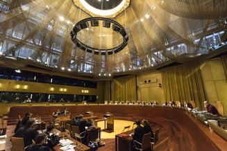 CJUE a stabilit in ianuarie termen in primele 3 dosare trimise din Romania, care vizeaza MCV si infiintarea Sectiei Speciale