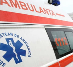 CLUJ: Copii loviti pe trecere de un sofer neatent. Ambii au fost raniti