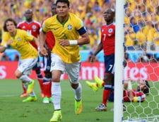 CM 2014: Brazilia invinge spectaculos Columbia si se califica in semifinale
