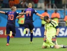 CM 2014: Campioana mondiala Spania, umilita de Olanda
