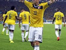 CM 2014: Columbienii, fericiti dupa calificarea in sferturi. Mesajul pentru Brazilia