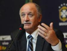 CM 2014: Luiz Scolari prevede mai multa suferinta pentru Brazilia