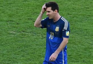 CM 2014: Messi, vinovat pentru esecul Argentinei?