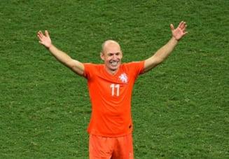 CM 2014: Robben le raspunde criticilor