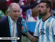 CM 2014: Selectionerul Argentinei, umilit de un fotbalist