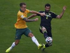 CM 2014: Spania s-a distrat cu Australia