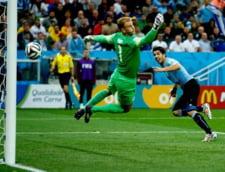 CM 2014: Uruguay bate Anglia, care e ca si eliminata