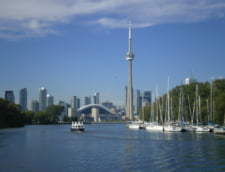 CN Tower lac Ontario