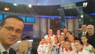 CNA, sesizat dupa prezenta gimnastelor la Gadea alaturi de candidatii PSD la europarlamentare