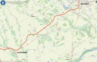 CNAIR a lansat licitatia pentru proiectarea drumului de mare viteza Bucuresti - Alexandria. Anuntul ministrului Drula