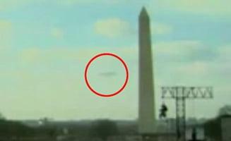 CNN a filmat un OZN la investitura lui Obama (Video)