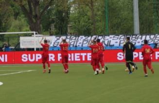 """CSA Steaua, calificare cu scandal in """"finala"""" pentru promovare. Patronul adversarei a vrut sa scoata echipa de pe teren"""