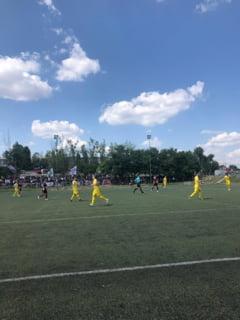 CSA Steaua invinge rivala Rapid la debutul Ligii 4, intr-un meci in care a marcat de noua ori