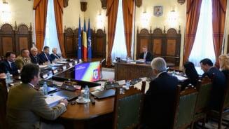 CSAT a avizat rectificarea bugetara pentru institutiile de securitate nationala, asa cum a propus Teodorovici