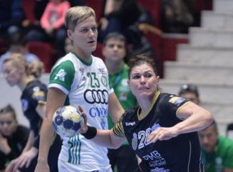 CSM Bucuresti, invinsa categoric de Gyor in Liga Campionilor