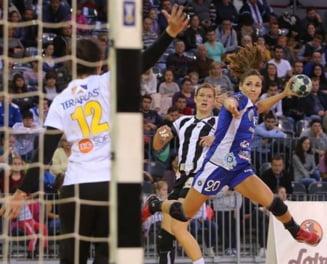 CSM Bucuresti, invinsa categoric in semifinalele Ligii Campionilor