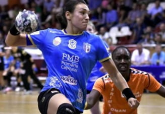 CSM Bucuresti, invinsa de Gyor in Liga Campionilor