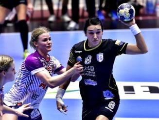 CSM Bucuresti, invinsa dramatic in Liga Campionilor