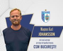 CSM Bucuresti a anuntat numele noului antrenor