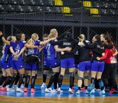 CSM Bucuresti a castigat titlul national la handbal feminin. Echipa sustinuta de Primaria Capitalei a iesit campioana cu doua etape inaintea finalului de sezon