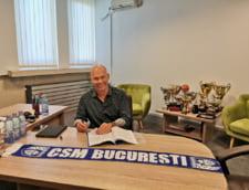 CSM Bucuresti are un nou antrenor - oficial