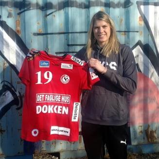CSM Bucuresti nu ii da voie unei jucatoare de top sa plece, chiar daca aceasta a fost prezentata in Danemarca. Reactia clubului