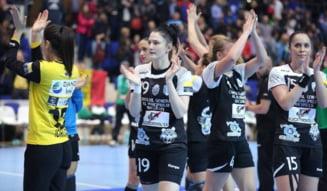 CSM Bucuresti se califica in finala Ligii Campionilor la handbal feminin dupa un meci de senzatie