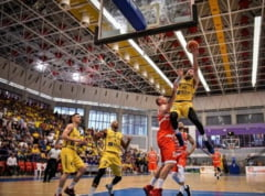 CSM CSU Oradea a castigat, in deplasare, primul joc cu BC CSU Sibiu, din semifinalele Ligii Nationale