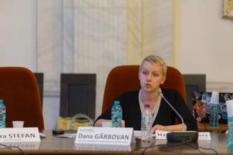 CSM discuta saptamana viitoare cererea Danei Girbovan de retragere a demisiei din magistratura