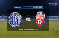 CSMS Iasi- FC Botosani 1-0 (1-0)