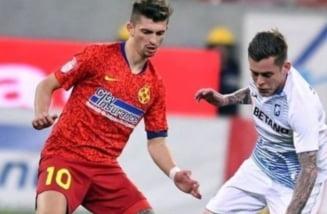 CSU Craiova a trecut pe langa o mare victorie in deplasare, cu rivala FCSB. Oltenii au ratat un penalty prin Cicaldau