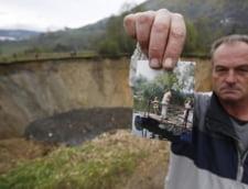Ca-n filmele SF: Un lac a disparut peste noapte