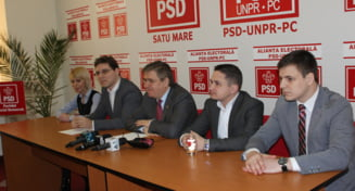 Cabinet europarlamentar in sediul PSD Satu Mare