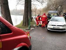 Cadavrul unei femei a fost gasit in lacul din Parcul IOR din Capitala