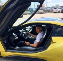 """Cadou fabulos pentru Ianis Hagi: Fiul """"Regelui"""" a primit o masina de 150 de mii de euro!"""