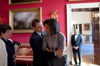 Cadoul care l-a facut pe Obama sa rada: O sa o rog pe Michelle sa-l incerce diseara (Video)