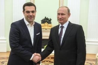 Cadoul lui Putin pentru Tsipras: O icoana furata de nazisti din Grecia