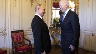 """Cadourile primite de Vladimir Putin de la Joe Biden. Unul reprezinta """"puterea, unitatea, rezistenta"""""""