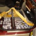Cainele detector de tutun a prins un contrabandist la Vama Albita